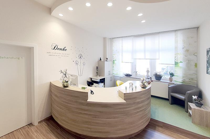 Zahnarztpraxis Mügeln - Rezeption